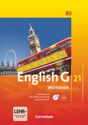 English G 21, Ausgabe B: English G 21 - Ausgabe B - Band 3: 7. Schuljahr