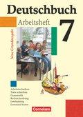 Deutschbuch, Neue Grundausgabe: 7. Schuljahr, Arbeitsheft