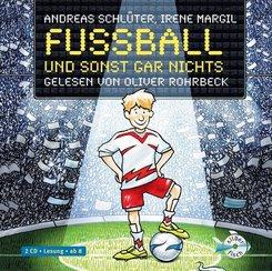 Fußball und sonst gar nichts, 2 Audio-CDs