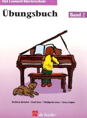 Hal Leonard Klavierschule, Übungsbuch - Bd.2