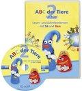 ABC der Tiere: 2. Schuljahr,  Lesen- und Schreibenlernen mit Sil und Ben, 1 CD-ROM