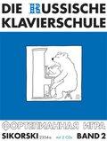Die Russische Klavierschule, m. 2 Audio-CDs - Bd.2