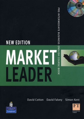 Market Leader, Pre-Intermediate, New Edition: Course Book, w. Self-Study Multi-CD-ROM and 2 Audio-CDs