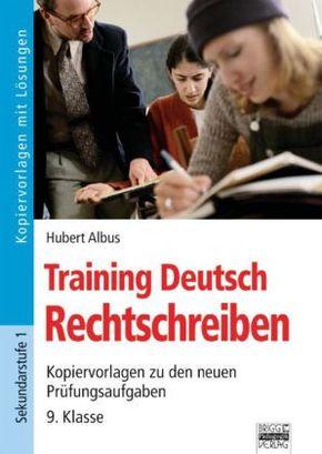 Training Deutsch - Rechtschreiben