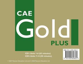CAE Gold Plus: 2 Coursebook Audio-CDs