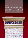 Die Sprache der Signatur, 4 Bde.