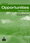 New Opportunities, Intermediate: Language Powerbook, w. CD-ROM