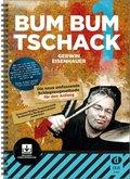 Bum Bum Tschack, für Schlagzeug, m. 2 Audio-CDs - Bd.1