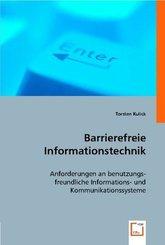 Barrierefreie Informationstechnik (eBook, 15x22x0,7)