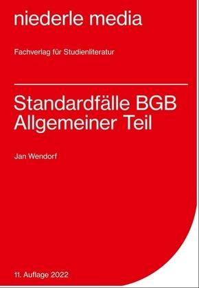 Standardfälle BGB Allgemeiner Teil