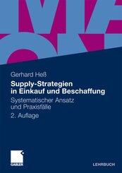 Supply-Strategien in Einkauf und Beschaffung