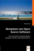Akzeptanz von Open Source Software (eBook, PDF)