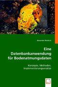 Eine Datenbankanwendung für Bodenatmungsdaten (eBook, PDF)