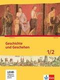 Geschichte und Geschehen, Ausgabe Bremen, Mecklenburg-Vorpommern, Niedersachsen: Schülerband, m. CD-ROM; 1/2