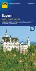 ADAC Karte Bayern