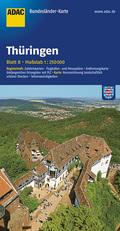 ADAC Karte Thüringen