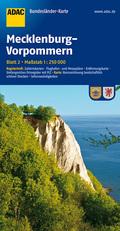 ADAC Karte Mecklenburg-Vorpommern