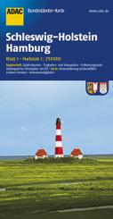 ADAC Karte Schleswig-Holstein, Hamburg
