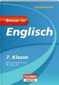 Besser in Englisch, Gymnasium: 7. Klasse, m. Audio-CD