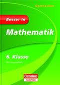 Besser in Mathematik, Gymnasium; 6. Klasse