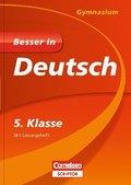 Besser in Deutsch, Gymnasium; 5. Klasse