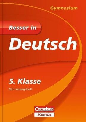 Besser in Deutsch, Gymnasium: 5. Klasse