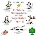 Fröhliche Weihnachten mit den Yoga-Kühen