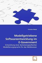 Modellgetriebene Softwareentwicklung im E-Government (eBook, 15x22x0,6)