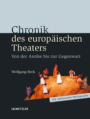 Chronik des europäischen Theaters; .