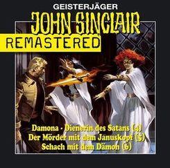 Geisterjäger John Sinclair - Remastered, 3 Audio-CDs