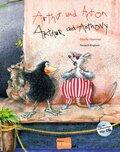 Arthur und Anton, Deutsch-Englisch - Arthur and Anthony, m. Audio-CD