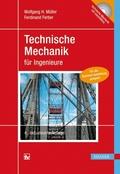 Technische Mechanik für Ingenieure, m. CD-ROM
