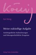Werkausgabe: Meine zukünftige Aufgabe; Abteilung 12: Zur Biographie Karl