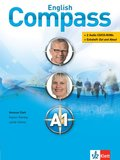 English Compass: Students Book, m. 2 Audio-CD/CD-ROMs u. Extraheft 'Out and About'; Niveau.A1