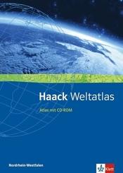 Haack Weltatlas. Ausgabe Nordrhein-Westfalen Sekundarstufe I und II, m. 1 CD-ROM