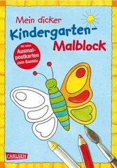 Mein dicker Kindergarten-Malblock