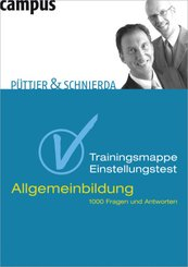 Trainingsmappe Einstellungstest, Allgemeinbildung