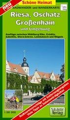 Doktor Barthel Karte Riesa, Oschatz, Großenhain und Umgebung