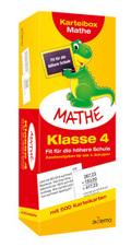 Karteibox Mathe, Klasse 4 - Fit für die höhere Schule