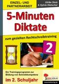Kohls praktische 5-Minuten-Diktate, 2. Schuljahr
