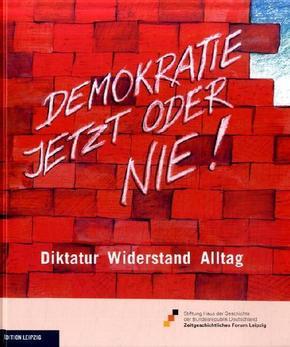 Demokratie jetzt oder nie!