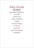 Werke: Nachgelassene Gedichte 1968-1970; Abt.1; Bd.14