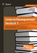 Unterrichtssequenzen Deutsch, 7. Klasse