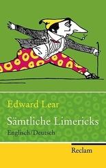 Edward Lear - Sämtliche Limericks, Englisch/Deutsch