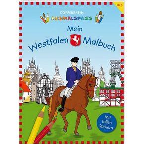 Mein Westfalen-Malbuch