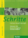 Schritte international - Deutsch als Fremdsprache: Glossar XXL Deutsch-Englisch - German-English; Bd.1