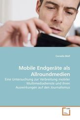 Mobile Endgeräte als Allroundmedien (eBook, 15x22x1,7)