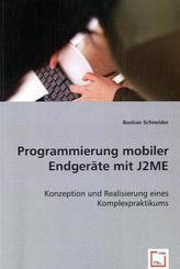 Programmierung mobiler Endgeräte mit J2ME (eBook, PDF)