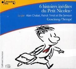 6 histoires inédites du Petit Nicolas, 1 Audio-CD