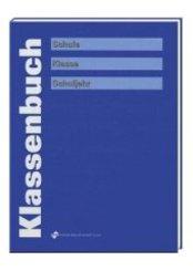 Klassenbuch (blau)